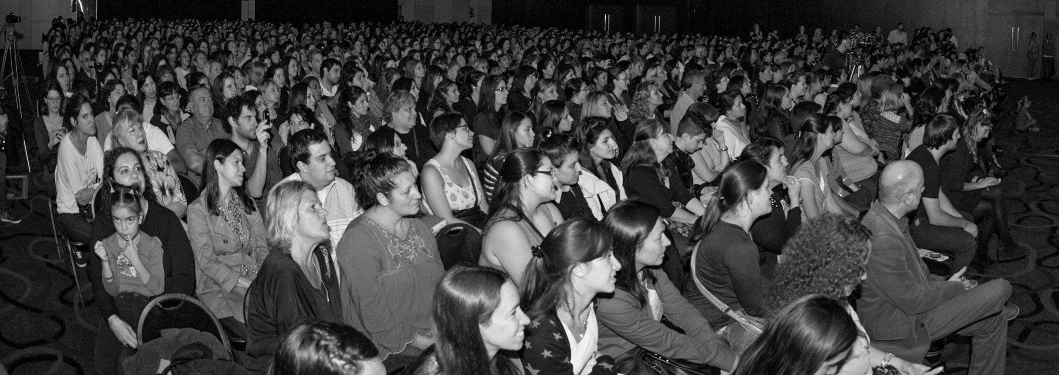 Las fotos de la presentación en la Feria del Libro